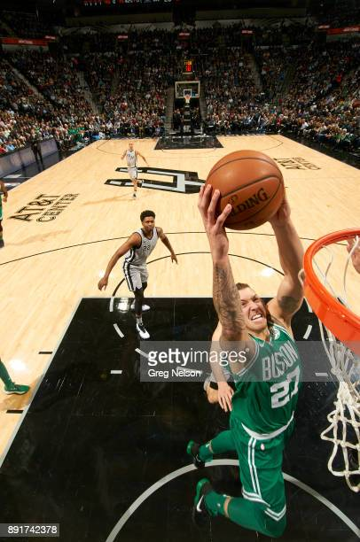 Boston Celtics Daniel Theis in action vs San Antonio Spurs at ATT Center San Antonio TX CREDIT Greg Nelson