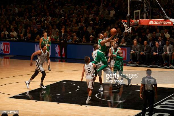 Boston Celtics Marcus Smart in action vs San Antonio Spurs at ATT Center San Antonio TX CREDIT Greg Nelson