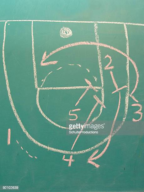 basketball chalk - passing sport stock pictures, royalty-free photos & images