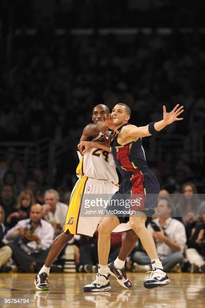 Cleveland Cavaliers Anthony Parker in action vs Los Angeles Lakers Kobe Bryant . Los Angeles, CA CREDIT: John W. McDonough