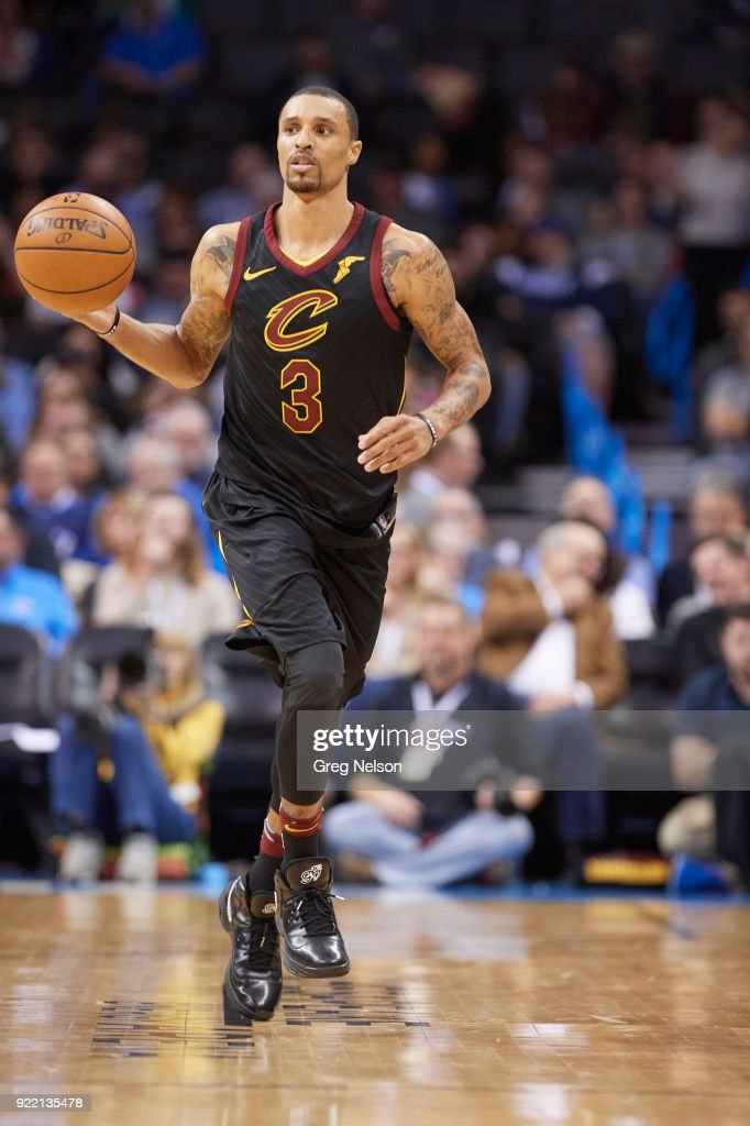 Oklahoma City Thunder vs Cleveland Cavaliers : News Photo