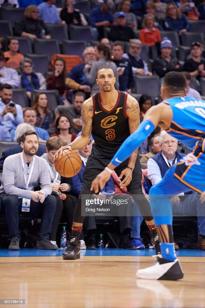 Oklahoma City Thunder vs Cleveland Cavaliers : Fotografía de noticias