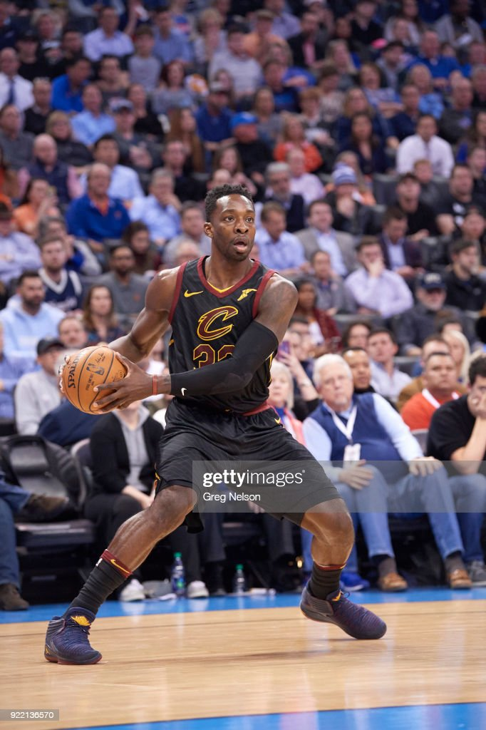 Cleveland Cavaliers Jeff Green (32) in action vs Oklahoma City Thunder at Chesapeake Energy Arena. Greg Nelson TK1 )