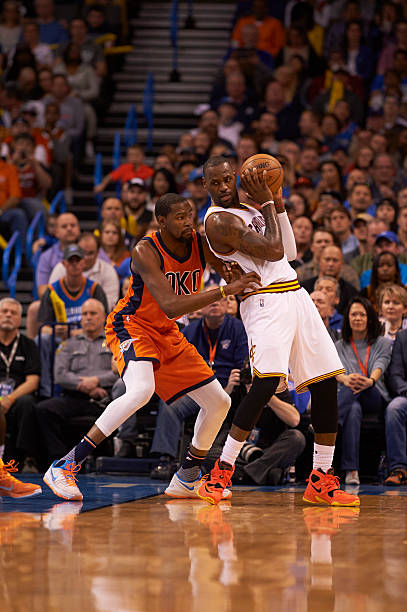 2d91765ed Oklahoma City Thunder vs Cleveland Cavaliers Pictures
