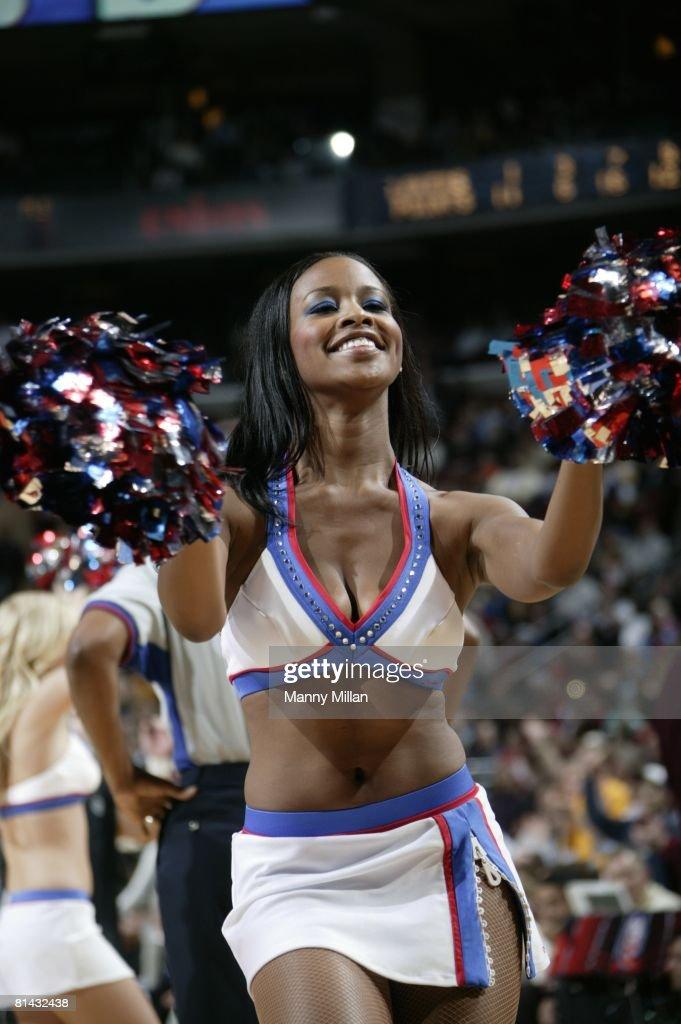 Philadelphia 76ers Cheerleader : News Photo