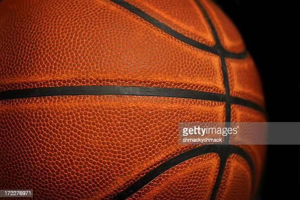 バスケットボールのクローズアップ
