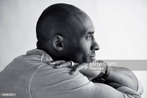 Closeup portrait of Los Angeles Lakers guard Kobe Bryant casual during photo shoot Los Angeles CA CREDIT Robert Beck