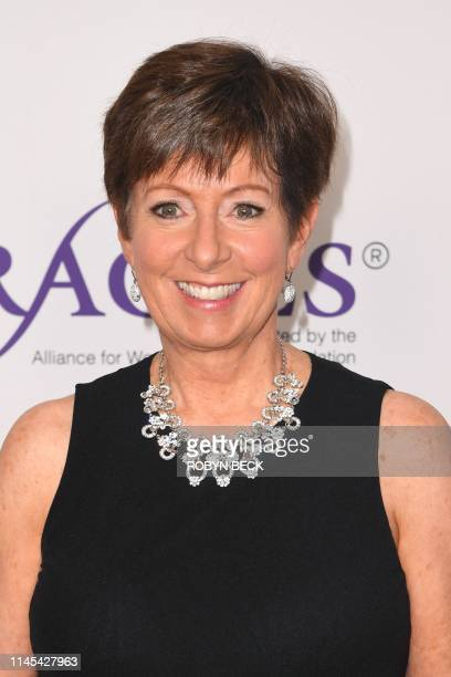 US basketball coach Muffet McGraw attends the 44th Annual Gracie Awards Gala at the Four Seasons Beverly Wilshire hotel on May 21 2019 in Beverly...