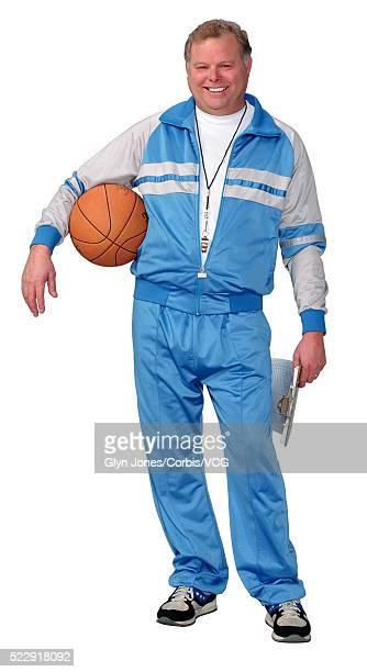 basketball coach - trainingsanzug stock-fotos und bilder