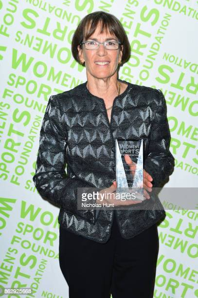 Basketball coach Tara VanDerveer is honored at the The Women's Sports Foundation's 38th Annual Salute To Women in Sports Awards Gala on October 18,...