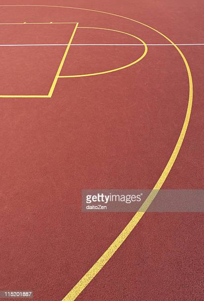 Basketball court lines