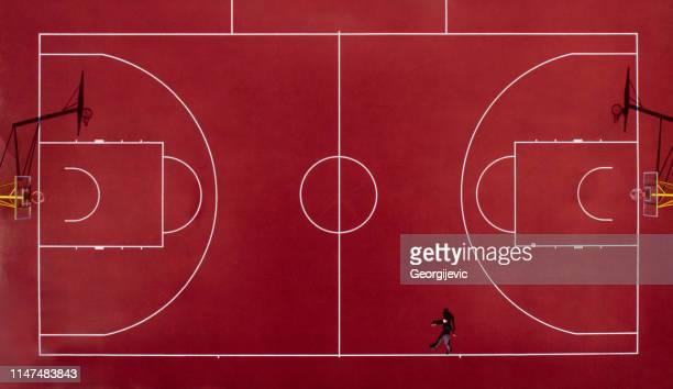 basketball court - pitch stock pictures, royalty-free photos & images