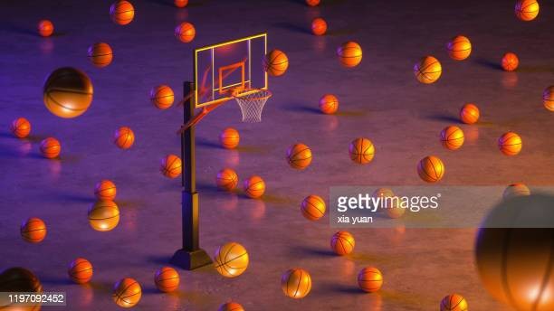 basketball court - draft sports stock pictures, royalty-free photos & images