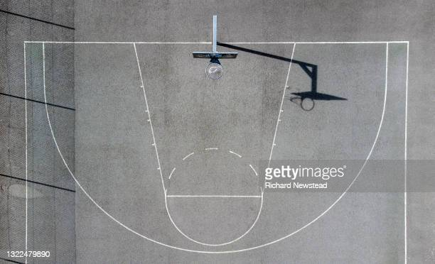 basketball court - basketball sport stock pictures, royalty-free photos & images