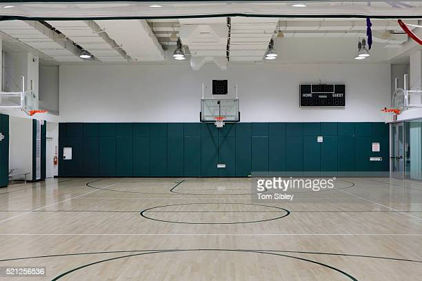 basketball court - image stock-fotos und bilder
