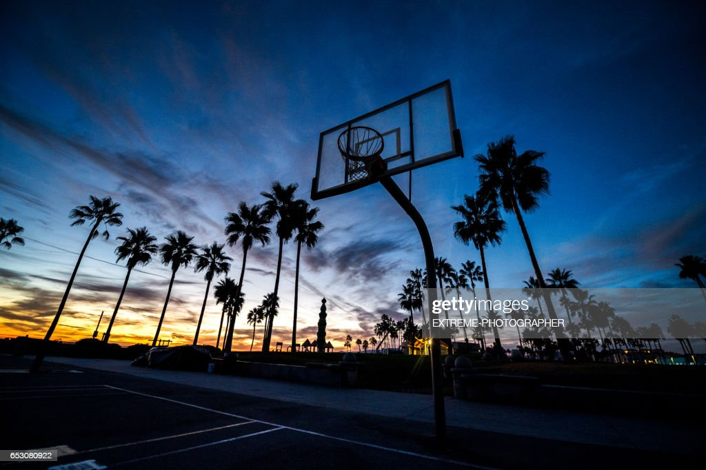 Basketball court : Foto stock