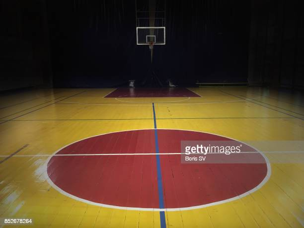 basketball court - sports court stock pictures, royalty-free photos & images