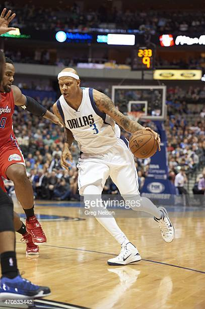 Dallas Mavericks Charlie Villanueva in action vs Los Angeles Clippers at American Airlines Center Dallas TX CREDIT Greg Nelson