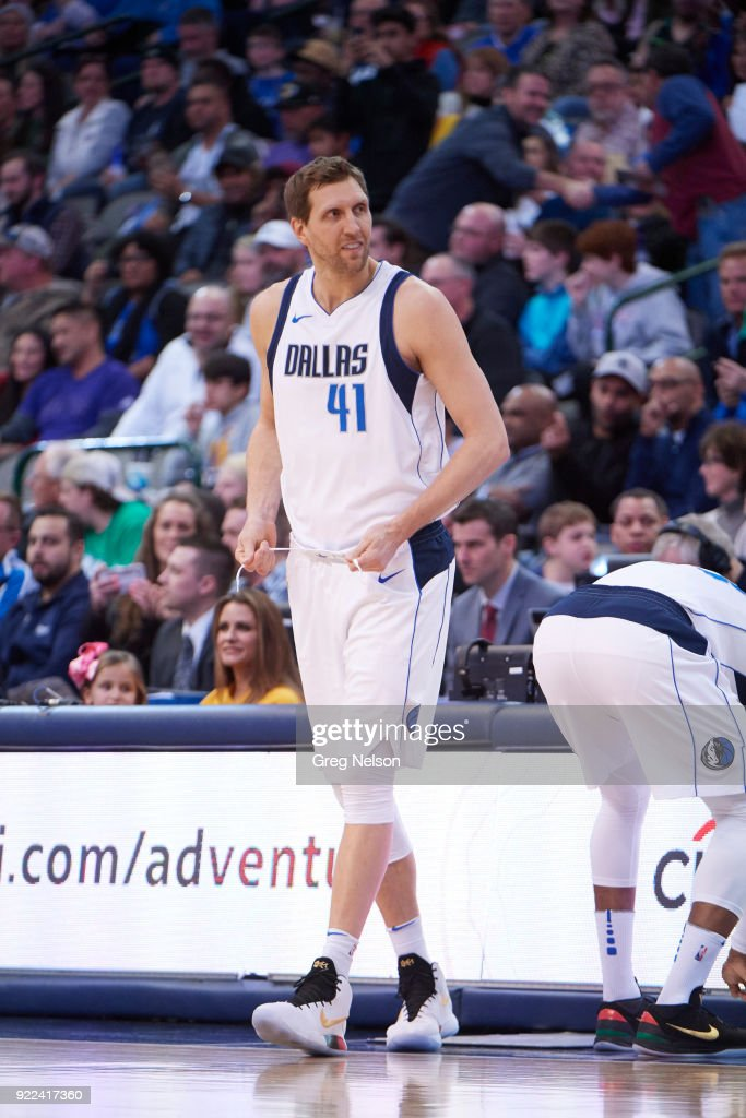 Dallas Mavericks Dirk Nowitzki (41) during game vs Los Angeles Lakers at American Airlines Center. Greg Nelson TK1 )