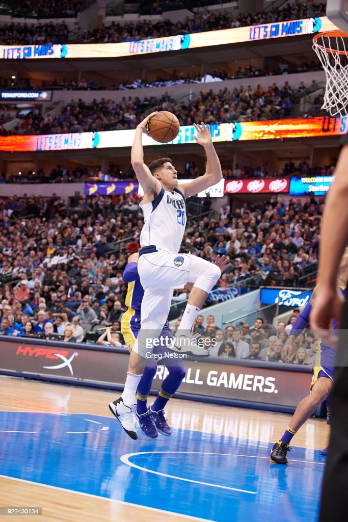 Dallas Mavericks Doug McDermott (20) in action vs Los Angeles Lakers at American Airlines Center. Greg Nelson TK1 )