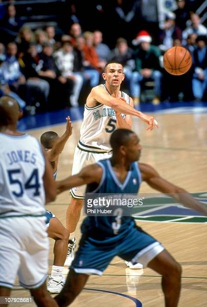 Dallas Mavericks Jason Kidd in action vs Charlotte Hornets at Reunion ArenaDallas TX CREDIT Phil Huber
