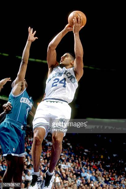 Dallas Mavericks Jimmy Jackson in action shot vs Charlotte Hornets at Reunion ArenaDallas TX CREDIT Phil Huber