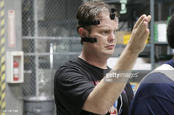 THE OFFICE Basketball Episode 5 Aired Pictured Rainn Wilson as Dwight Schrute Photo by Justin Lubin/NBCU Photo Bank