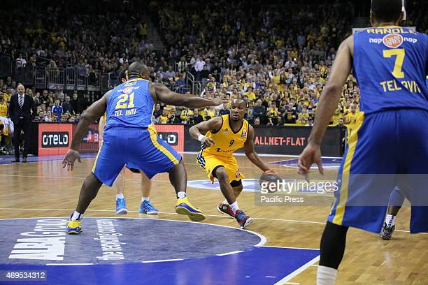 Basketball Euroleague top 16 game group E round 14 between Alba Berlin and Maccabi Electra Tel Aviv at O2 World ended with 7364 for Maccabi team