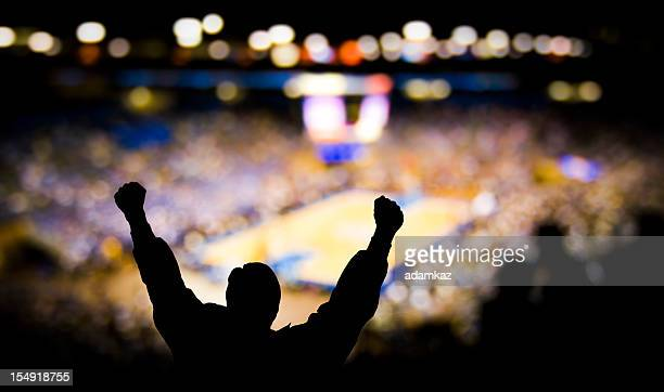 basketball excitement - basketball stadium stock pictures, royalty-free photos & images