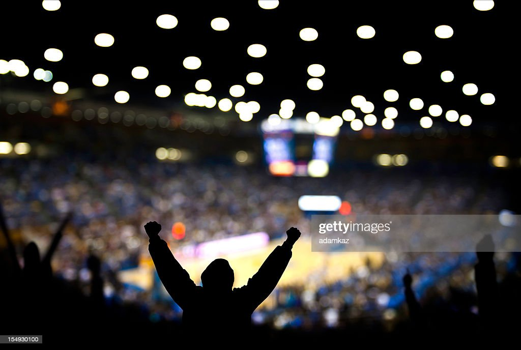 Basketball Excitement : Stock Photo