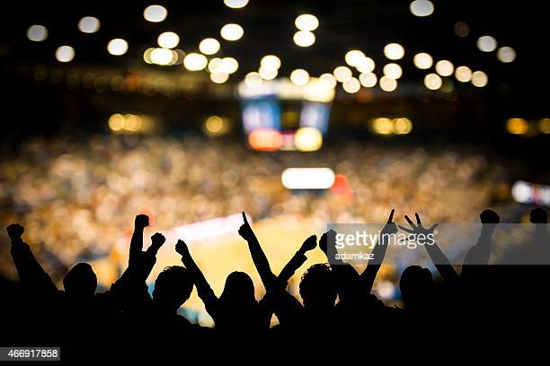 basketball excitement - supporter stock pictures, royalty-free photos & images