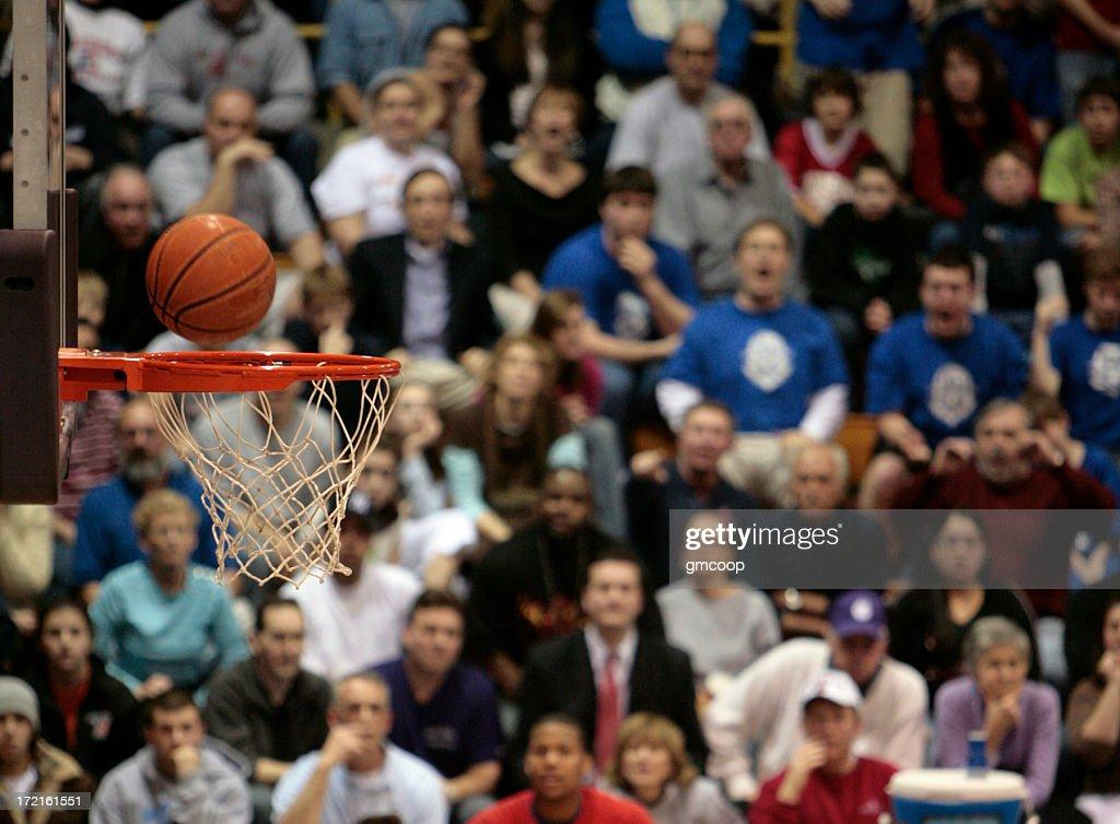 Basketball Fans II : Stock Photo