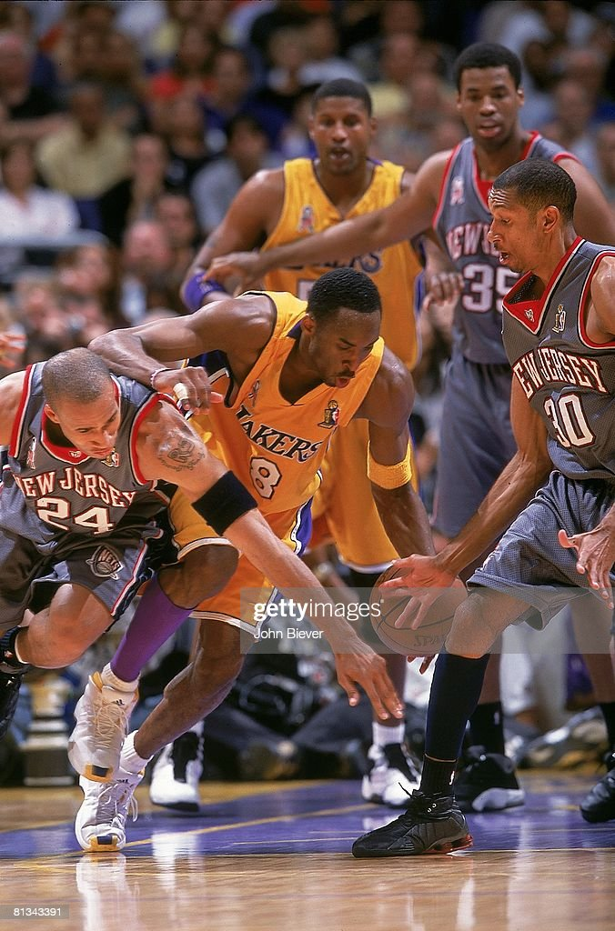 pretty nice 4c9ce a887f finals, Los Angeles Lakers Kobe Bryant in action vs New ...