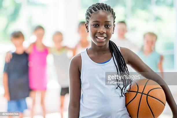 Basketball Game at the Gym