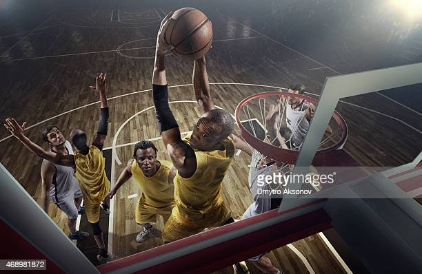 basketball game moments - basketball stadium stock photos and pictures