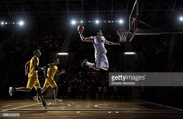 basketball game - slam dunk stock pictures, royalty-free photos & images