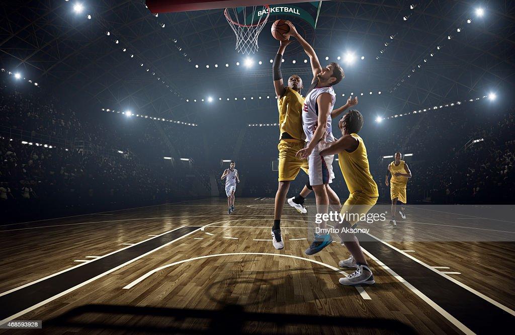 Basketball game : Stock Photo