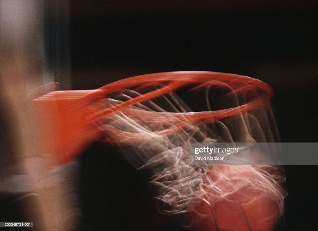 basketball going through basket stock photo getty images