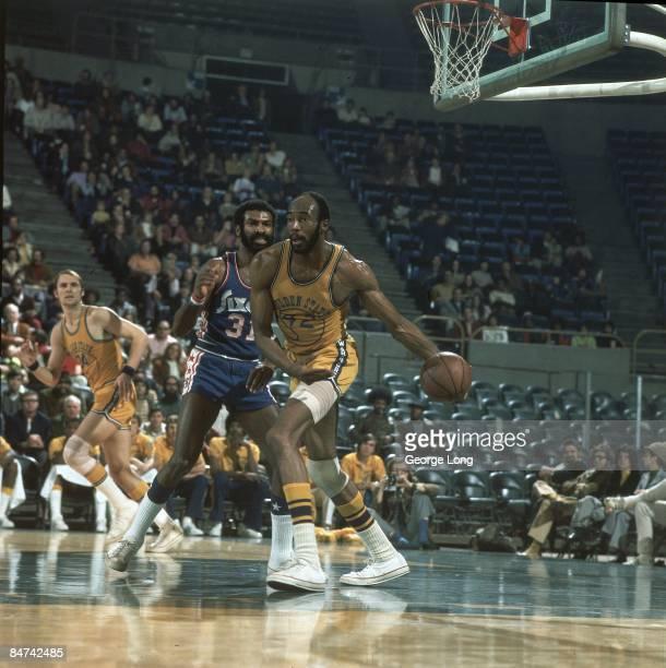 Golden State Warriors Nate Thurmond in action vs Philadelphia 76ers Oakland CA CREDIT George Long