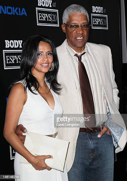 Basketball great Julius Erving aka Dr J and wife Dorys Madden attend ESPN Magazine's celebration of its 4th annual Body Issue at the Belasco Theater...