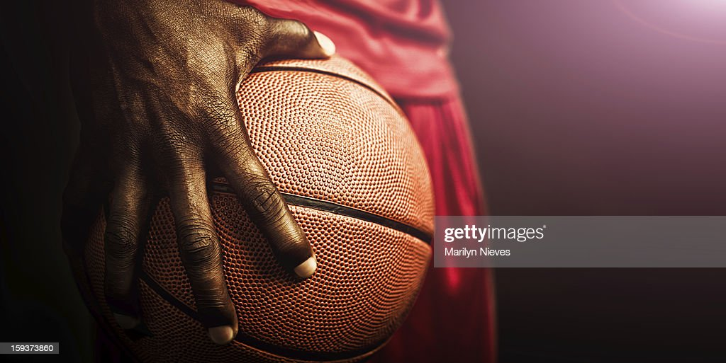 basketball grip : Stock Photo