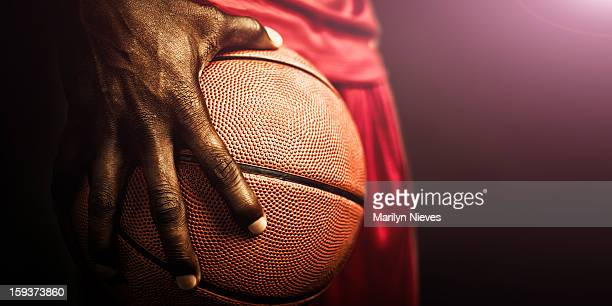 basketball grip - basketbal teamsport stockfoto's en -beelden