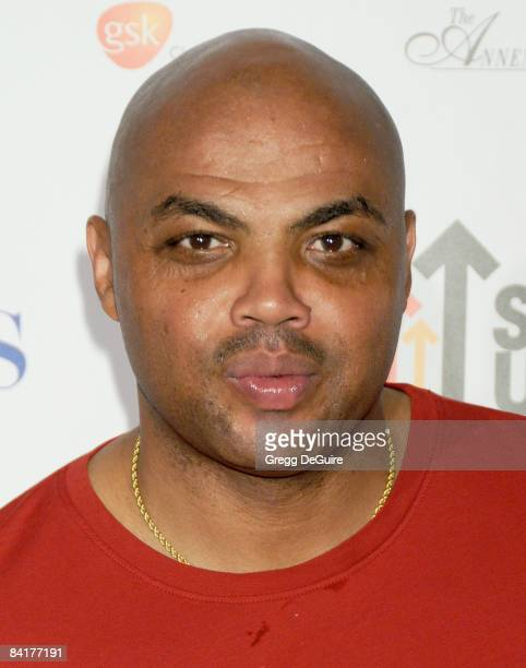 Basketball Hall of Famer Charles Barkley arrives at Stand Up For Cancer at Kodak Theater on September 5 2008 in Hollywood California