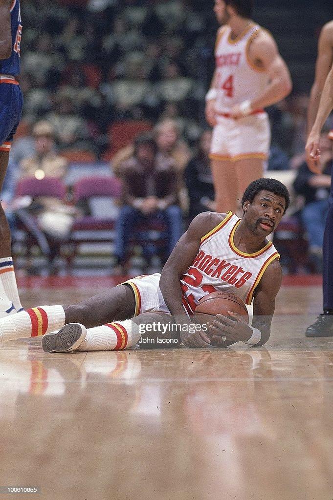 Houston Rockets Calvin Murphy (23) in action vs New York Knicks. Houston, TX 1/5/1977