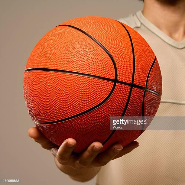 Básquetbol en las manos