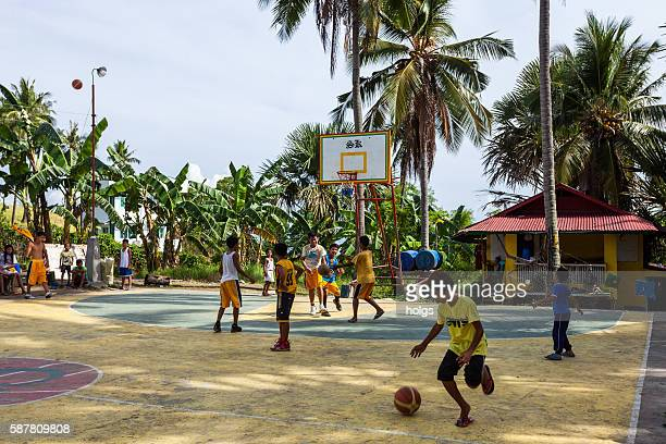 Basketball in Puerto Galera, Philippines