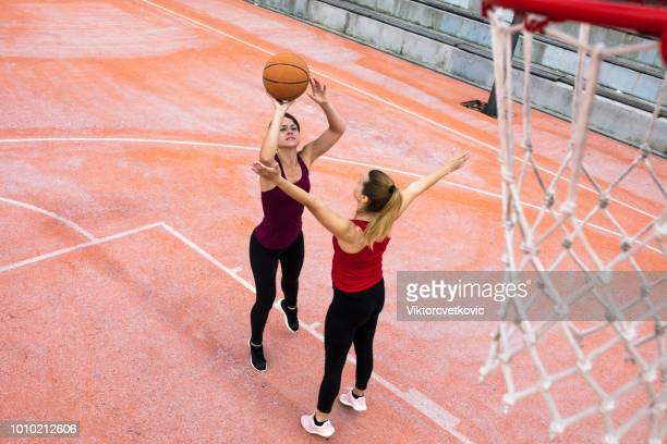 Basketball in der Nachbarschaft