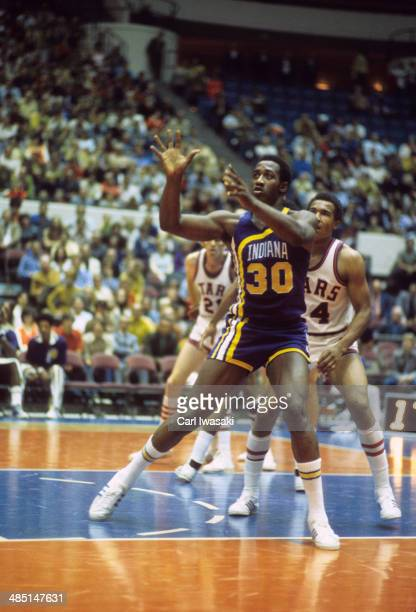 Indiana Pacers George McGinnis in action vs Utah Stars at The Salt Palace Salt Lake City UT CREDIT Carl Iwasaki