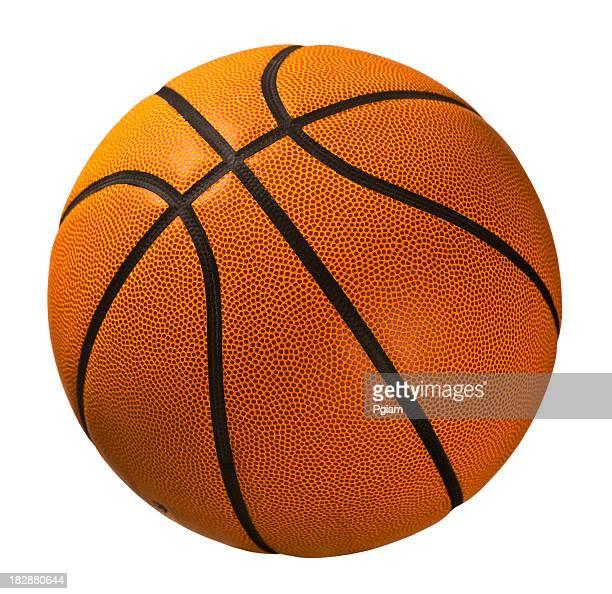 バスケットボール白で分離