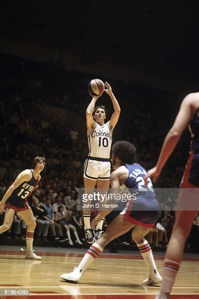 Kentucky Colonels Louis Dampier in action shot vs Utah Stars Louisville KY 4/8/1972 CREDIT John D Hanlon